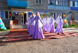 Праздник двора, посвященный Дню города «Стерлитамак-город мечты и творчества!» в микрорайоне Шахтау