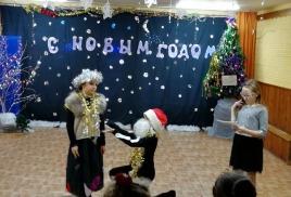 """новогодние мероприятия в детско - подростковом клубе """"Солярис"""""""